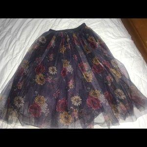 Dresses & Skirts - Tutu Skirt with flowers